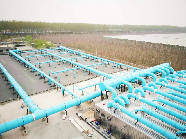 福州化工厂生物滤池系统