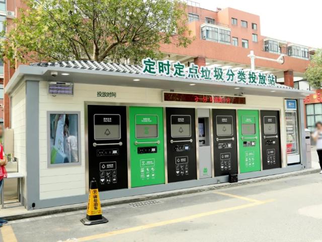 嘉定区专业性垃圾分类站商家 服务为先 上海优万建筑装饰工程供应