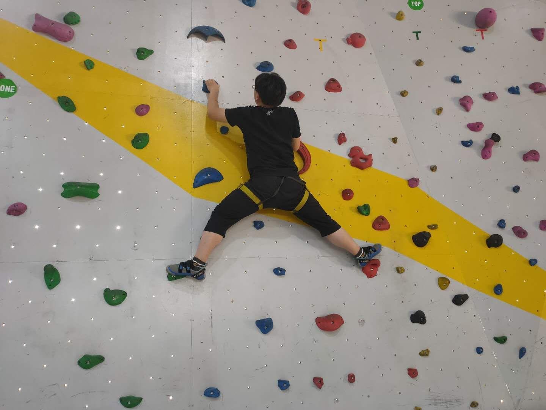 上海學校室內攀巖培訓學校 小班教學「奕成訓練營供應」
