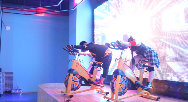 安徽动感单车课专业平台 值得信赖 上海造梦人体育发展供应