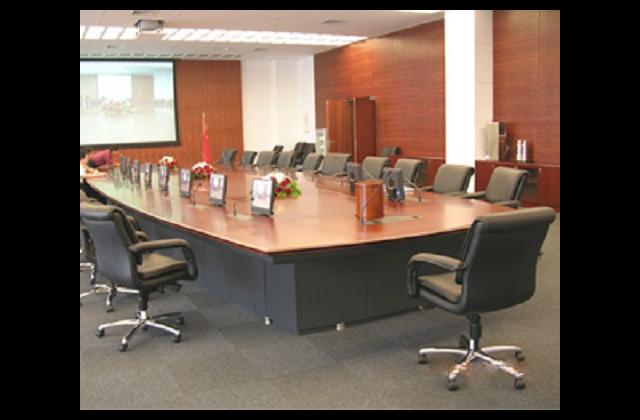 上海圆形会议桌供应商 诚信服务 上海震鼎办公家具供应