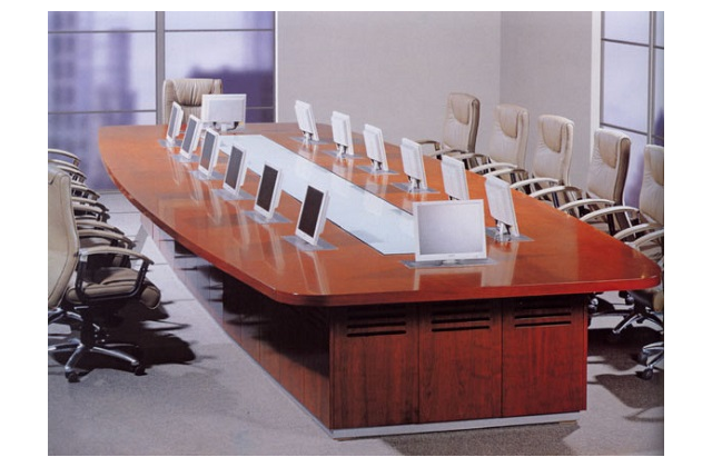 上海多人会议桌市场价格「上海震鼎办公家具供应」