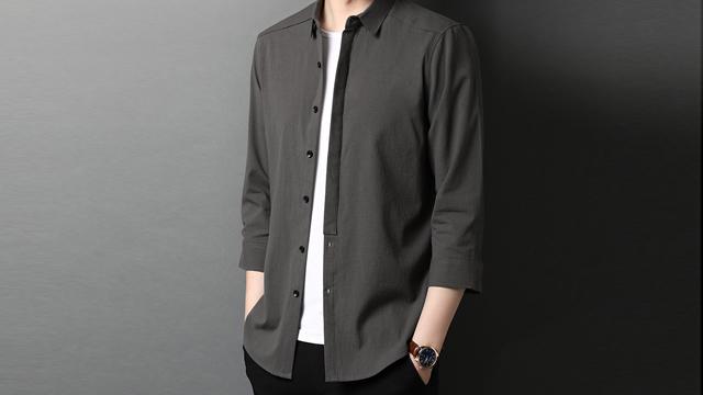 私人定制襯衫上門量體 陜西波革雅仕商貿供應