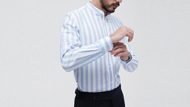 立领衬衫收费标准