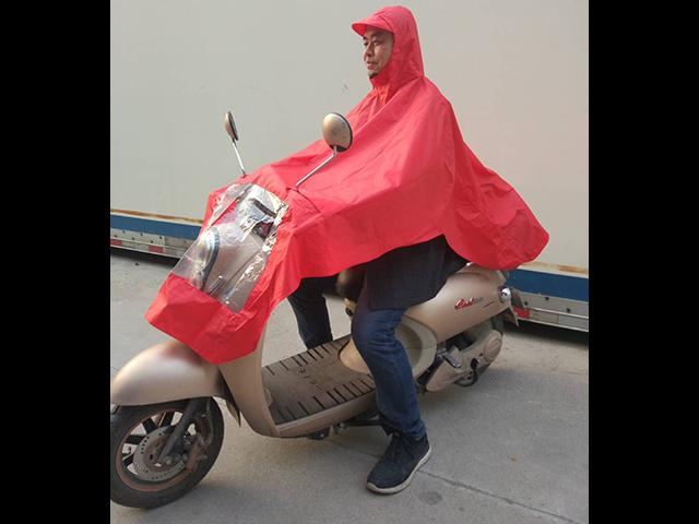 湖南电瓶车雨衣价格「三益电动车防护用品供应」