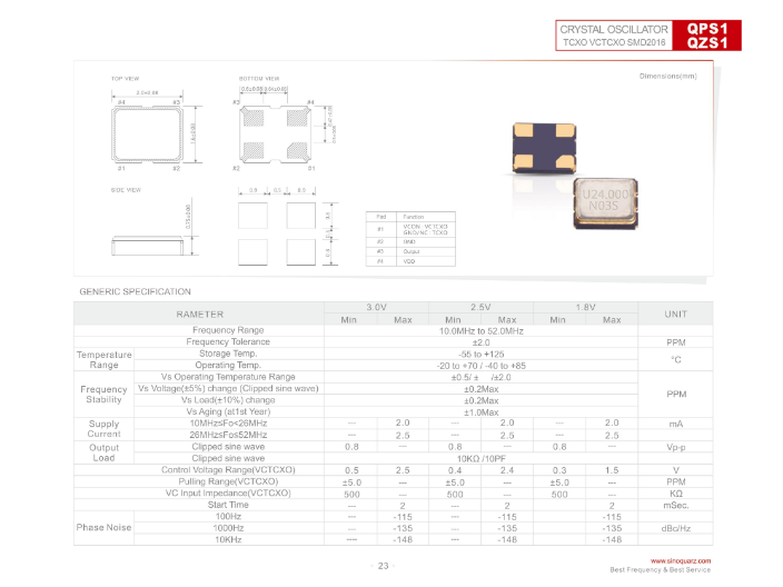 温州1210晶体振荡器多少钱 推荐咨询 苏州奥泰克电子科技供应