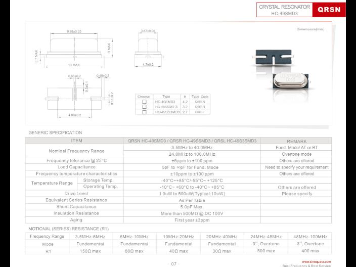 上海溫控晶振售價 誠信經營 蘇州奧泰克電子科技供應