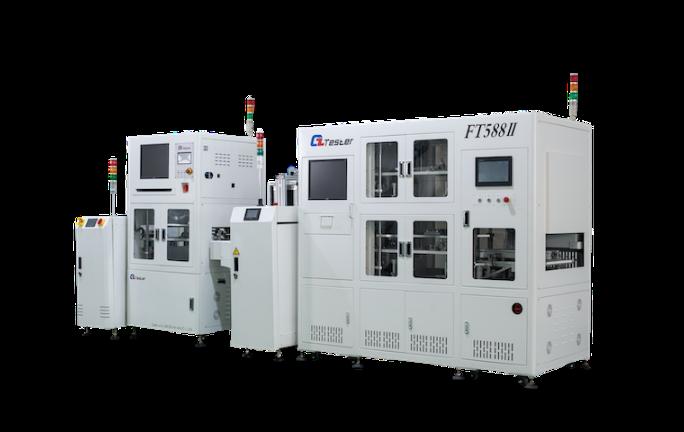 PCBA在线 ICT+双层FCT自动测试线促销价格 苏州市德智电子供应