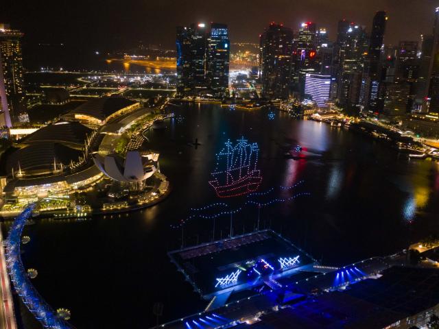 山西灯光节无人机表演价格 推荐咨询「深圳市高巨创新科技供应」