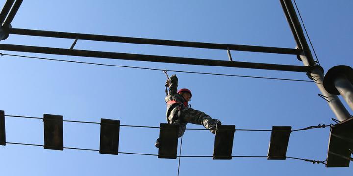 昆山企业拓展训练训练基地 服务至上「苏州橄榄营户外拓展供应」