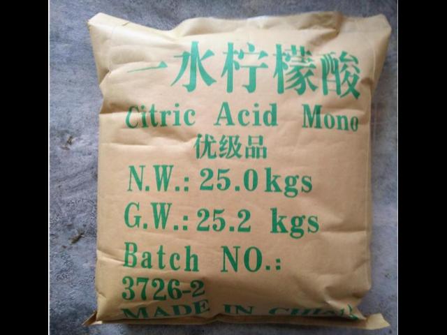 檸檬酸廠家直銷「蘇州君穎化工供應」