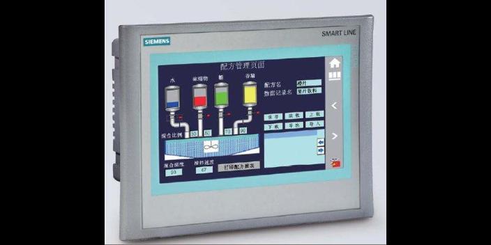 深圳西門子精簡面板與smart通訊