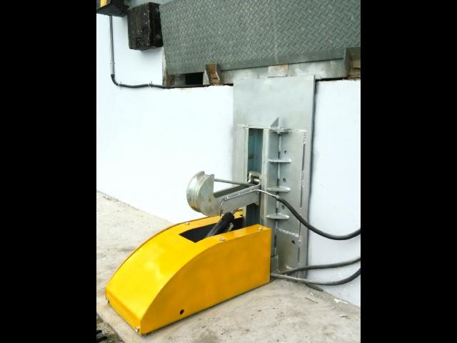 互联互锁警示色红色仓库货车限动器怎么卖 诚信服务 苏州普罗林工业控制技术供应