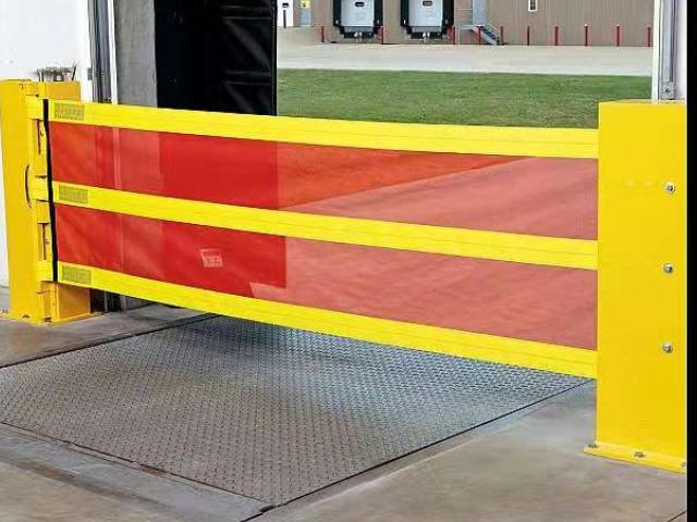 互联互锁仓库柔性月台安全防护栏上哪找 和谐共赢 苏州普罗林工业控制技术供应