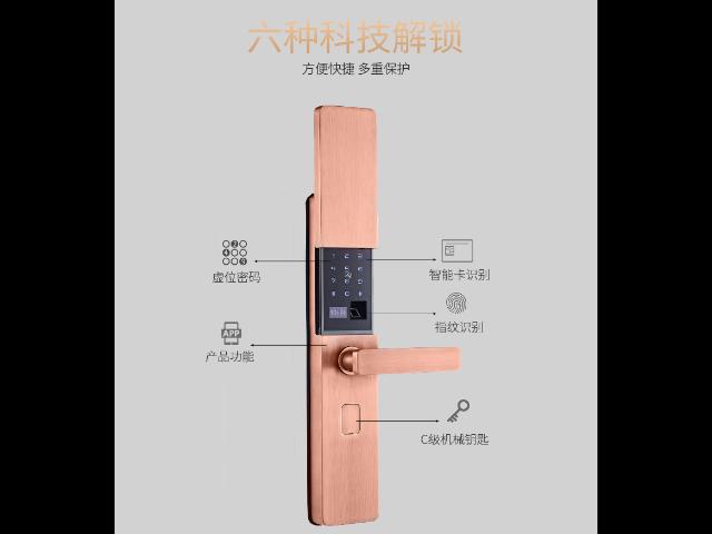 浙江智能門鎖廠家 誠信互利「深圳市安久和電子供應」