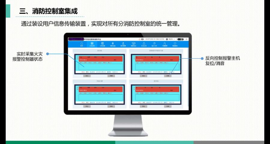 宜春校园可视化智慧消防系统服务平台 苏州思迪信息技术供应