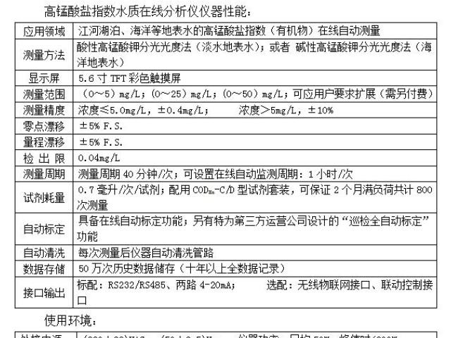 惠州氨氮水质自动在线监测仪(纳氏试剂法),微型水站