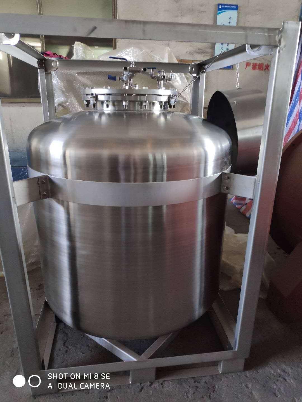 四川不锈钢周转桶厂 诚信服务 苏州圣思瑞包装容器供应