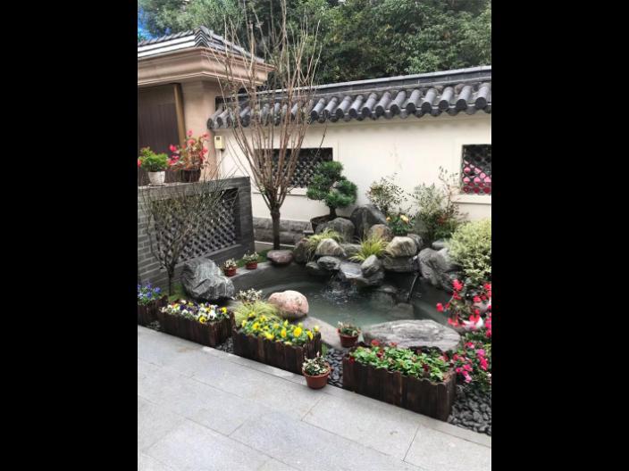 台州社区园林绿化工程费用 欢迎咨询 苏州御美森园林景观设计供应