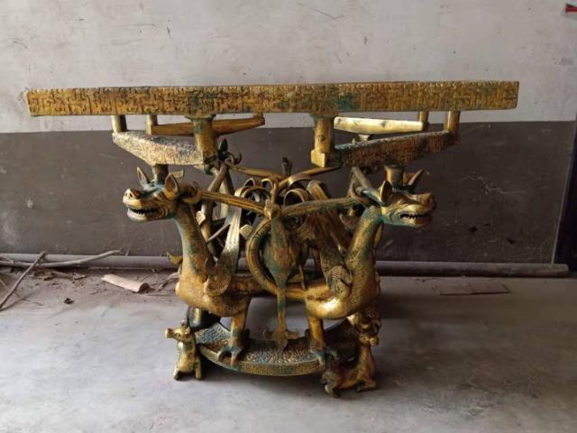 青銅器爵杯「洛陽天邑文化傳播供應」