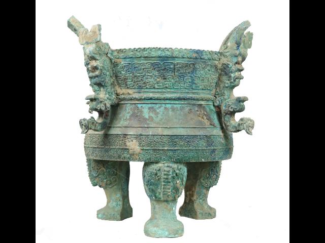 古玩青銅器鼎「洛陽天邑文化傳播供應」