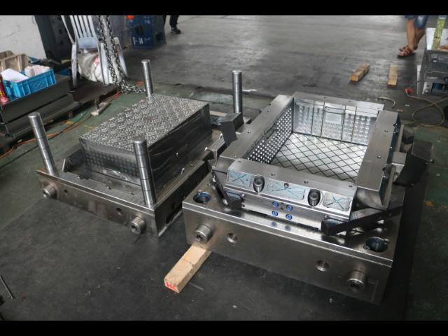 温州斜插式周转箱模具 推荐咨询「台州市黄岩年高模塑供应」