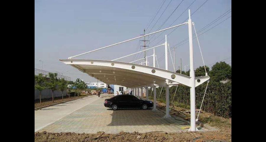 深圳膜結構停車蓬都有哪些 創造輝煌「臺州市文博膜結構工程供應」