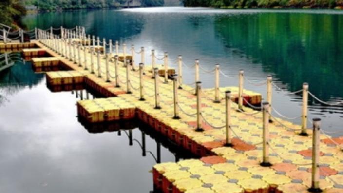 湖南水上浮橋規格 臺州霞光塑模供應