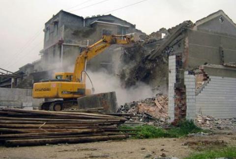上海浦东新区楼房拆迁标准 望南机械设备租赁供应