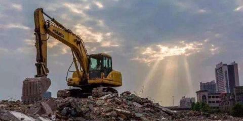 上海宝山旧房拆迁公司 欢迎咨询「望南机械设备租赁供应」