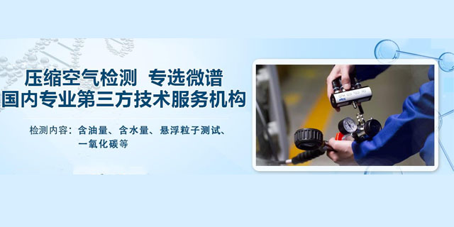 天津压缩空气测量 欢迎咨询 上海微谱化工供应