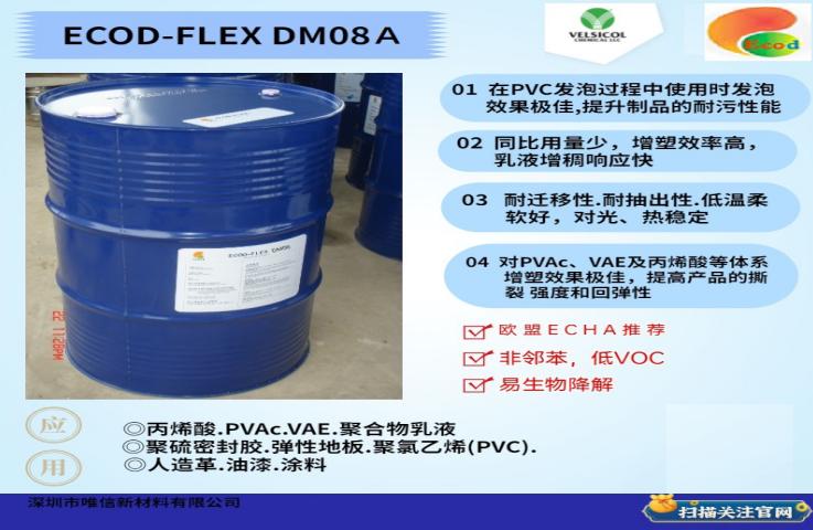 广东进口增塑剂完美替代Benzoflex 50
