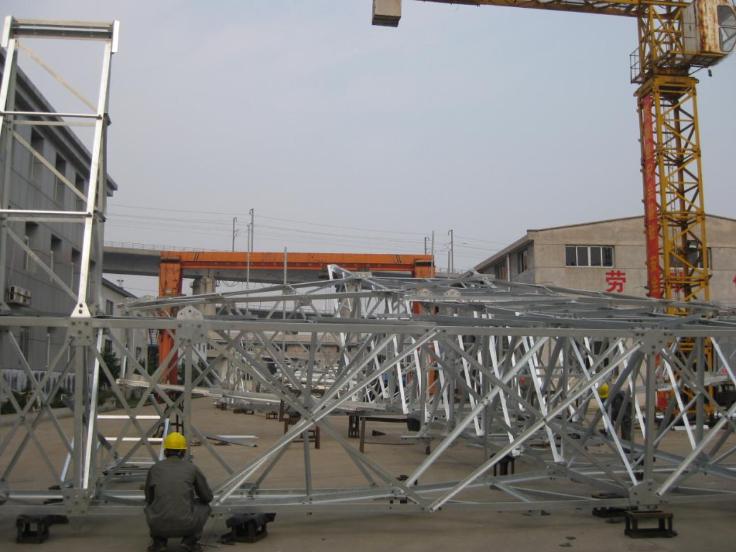武汉钢管铁塔生产厂家 服务为先 武汉市红旗铁塔镀锌供应