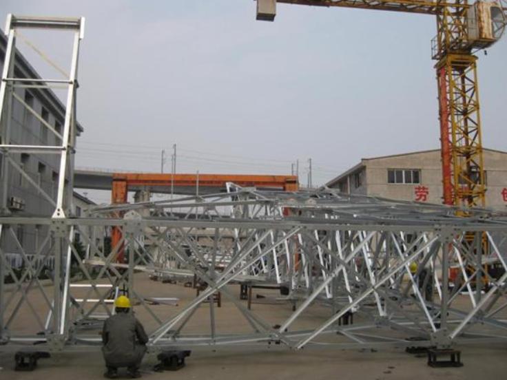 武汉500kv铁塔厂 诚信服务 武汉市红旗铁塔镀锌供应