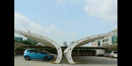 湖北高質量膜結構遮陽棚商家 歡迎咨詢 武漢杰米特膜結構工程供應