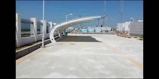 湖北環保膜結構停車棚制作廠家 服務為先 武漢杰米特膜結構工程供應