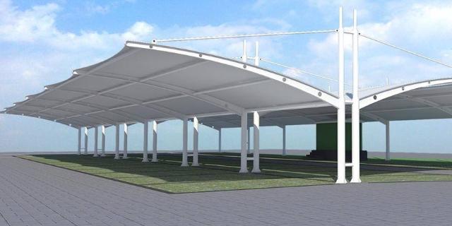 湖北防水膜結構停車棚生產廠家哪家好 服務為先 武漢杰米特膜結構工程供應