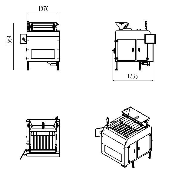 感应Z1650多道组合式视觉数粒机批发价格