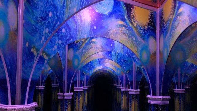 梵高星空藝術館廠家直銷 來電咨詢「廣州瓦力游樂設備供應」
