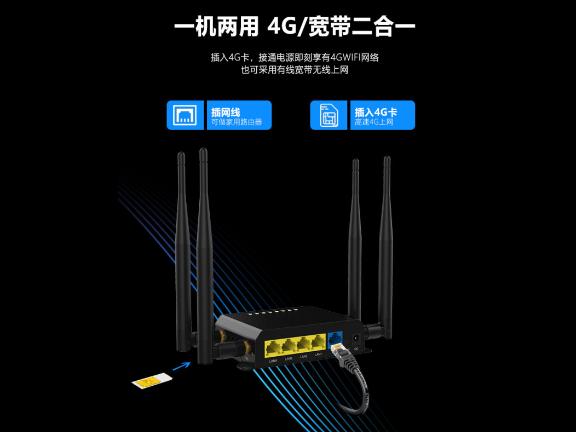 雾联wifi无线路由器调试
