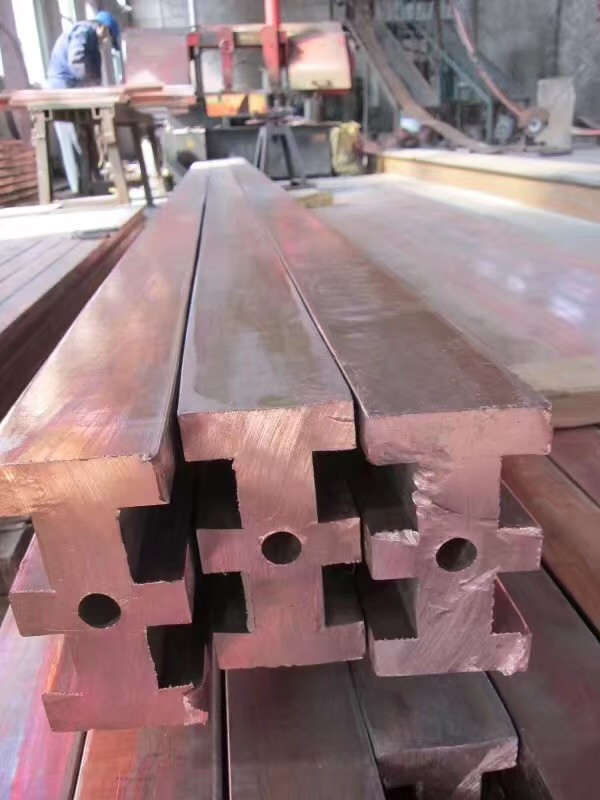 盐城优质紫铜排打孔 诚信服务 无锡博纳斯特钢供应