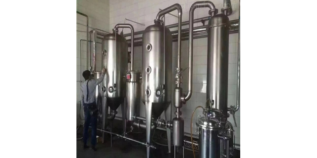 浙江污水处理多效蒸发器多少钱 欢迎咨询 无锡炳鑫药化设备供应