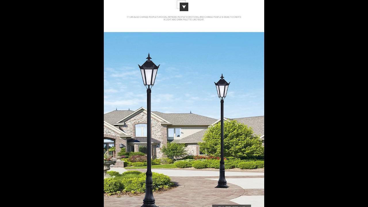 安徽庭院燈基礎 真誠推薦「無錫九州照明科技供應」