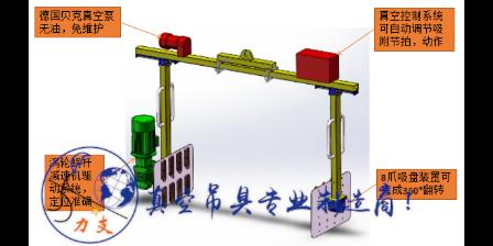 杭州太阳能坩埚搬运车坩埚吸盘安全吗 服务至上 力支真空吸盘吊具供应
