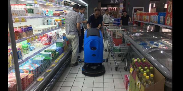 台州小型手推洗地机哪里买 无锡优尼斯清洁设备供应