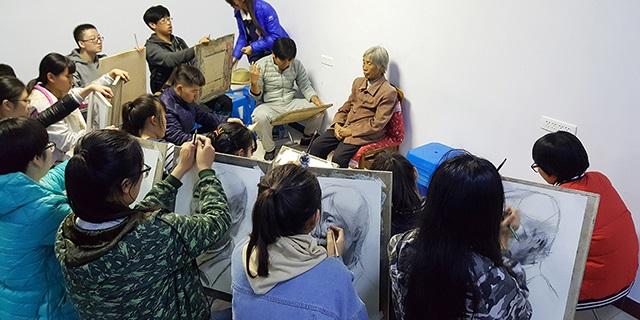 张店建桥实验学校附近中考画室辅导 淄博新动力画室服务