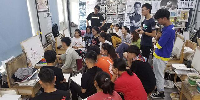 广电附近考级素描教育培训 淄博新动力画室服务