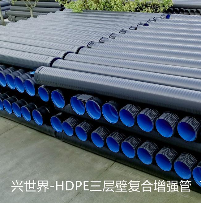 廈門三壁復合增強管規格 誠信為本  廈門興世新型材料供應