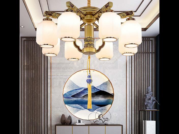 珠海简约新中式灯具供应商家,新中式灯具