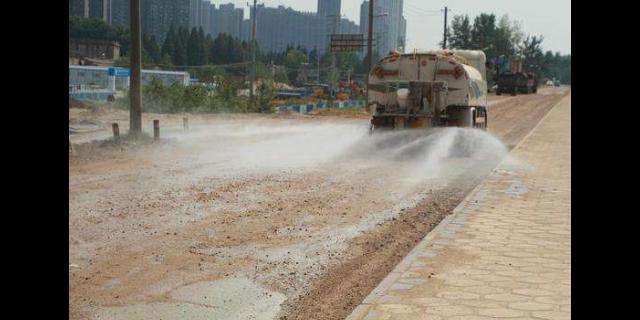 河南环卫道路型抑尘剂施工企业,道路型抑尘剂